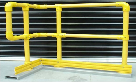 GRP Key Clamp Handrails